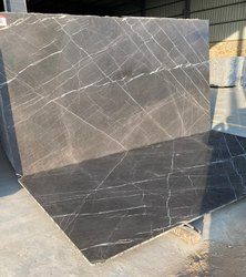 Polished Slab Grey Fito Marble, For Flooring, Thickness: 15-20 Mm