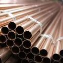 6-8 Meters Galvanized Copper Round Tubes, Thickness: 10-15mm