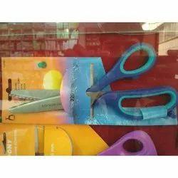塑料软触感锯齿形剪布剪刀,尺寸:220毫米