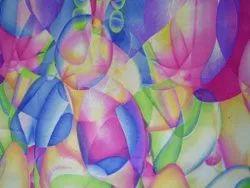 Net Jaicard Print Fabric