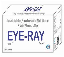 Zeaxanthin 3mg Lutein 10mg Proanthocyanidine 50mg Zinc 12mg  Magnesium 30mg Copper 1.35mg