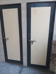 Swing Available in Brown and Cream FRP Doors, for Home