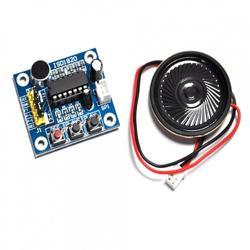 Embeddinator Fabric ISD1820 Voice Recording Playback Module With Mic Sound Audio, For Electronics