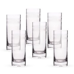 Transparent High Ball Glass for Hotel, Capacity: 300 - 450 mL