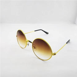 c034a6a52c5 Golden Beron Round Sun Googles