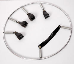 Aluminium Circular Finger Ring Gripper, For Exercise