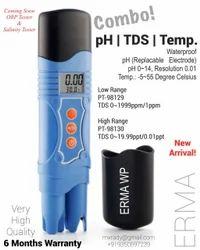 ERMA Ph/TDS/ Temperature Tester