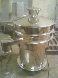 TGPE Stainless Steel Vibro Sifter, Capacity: 30