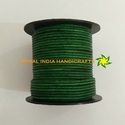 2.0mm Sea Green Round Leather Cord