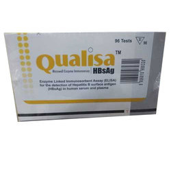 Qualisa Microwell Enzyme Immunoassay Hepatitis B Test Kit
