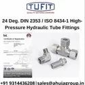 Tufit Adjustable Locknut Run Tee Coupling