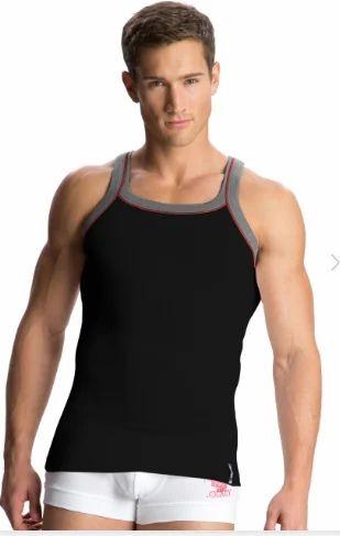 f807f2f9663586 Jockey Black and Grey Melange Vest at Rs 269  piece
