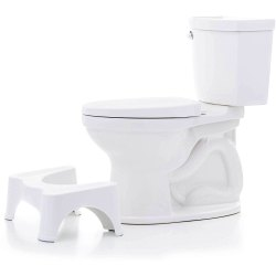 Parasnath Prime 9 Toilet Squat Stool Creates Natural Cross Between Indian vs Western