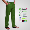 Natural Recycle Organic Cotton Mens Casual Pants