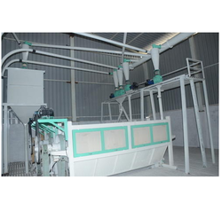 Automatic Besan Plant Centrifugal with Pneumatic System