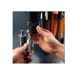 Metal Core Drilling With Keyless Tool Changes