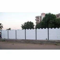 7 Feet Concrete Compound Wall