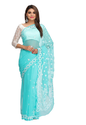 A191419 Embroidered Lucknow Chikan Ethnic Wear Saree