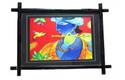 Wooden Wallhanging Photoframe With UV Printed Hand Painting
