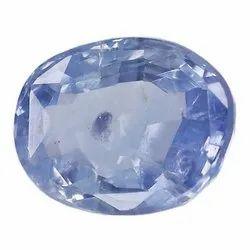 Oval -Cut Lustrous Eye Clean Natural Ceylon Blue Sapphire
