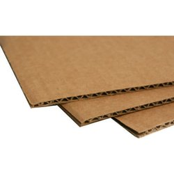 Brown Corrugated Board
