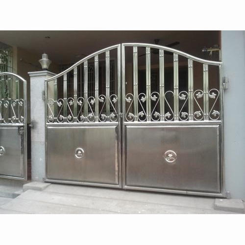 Jindal Silver Color Ss Gate Rs 900 Square Feet Sanjay