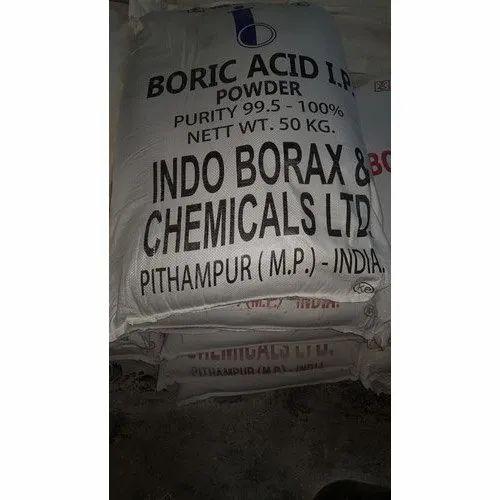 Boric Acid IP Powder