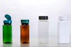 Square Capsule PET Jar