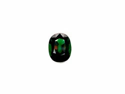 IGI Certified Natural Green Tsavorite Stone Faceted Oval Cut Exclusive Gemstone