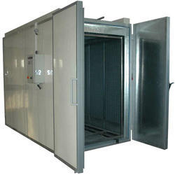 Powder Coating Oven, Automation Grade: Automatic, Capacity: 100-500 Kg