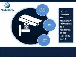 BIS Registration For CCTV Camera