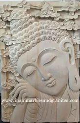 Buddha Stone Carving
