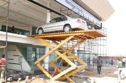 Scissor Car Lifts Supplier in Delhi NCR