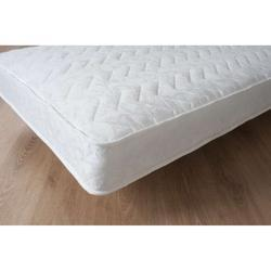 White And Cream Bonnell Memory Spring Mattress