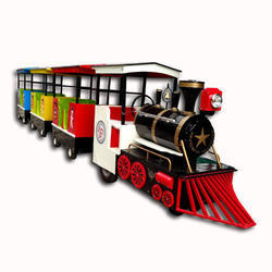 Trackless Train Battery Operated