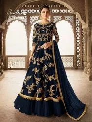 Bridal Heavy Georgette Boutique Christmas Collection Gown