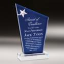 Star Performer Crystal Trophy