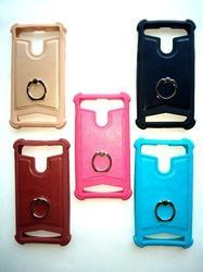 Silicone Plan And Designed Finger Ring Universal Mobile Back Cover