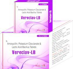Amoxicillin Potassium Clavunate and Lactic Acid Bacillus Tablets