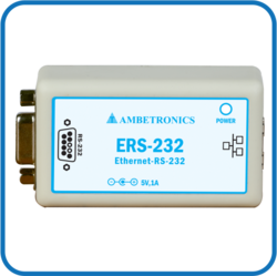 Ambetronics Ethernet to RS-232 Convertor