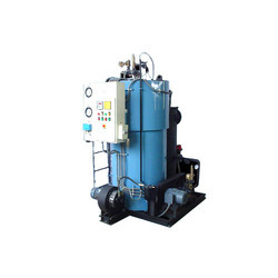 Vertical Oil & Gas Fuel Fired Hot Water Generator