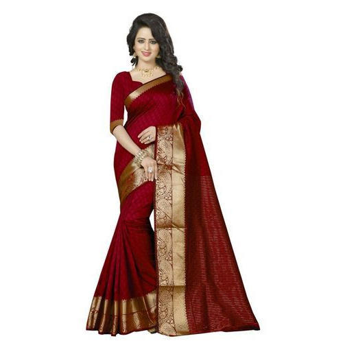58179603d6 Self Design Party Wear Ladies Fancy Half Silk Saree, Rs 550 /piece ...