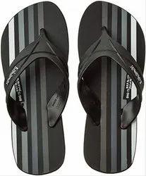 RELAXO Daily Wear Bahamas Black Slipper