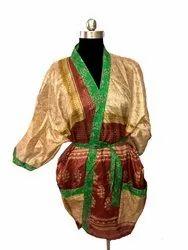 Traditional Beachwear Silk Kimono