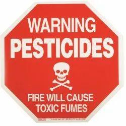 Pesticide Printed Labels