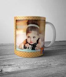 Ceramic Printed Mugs DTDC Coffee Mug Printing, In Gorakhpur, For Gift