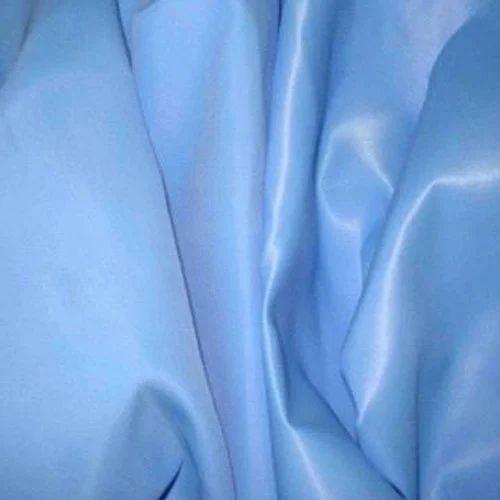 4eec979f3e Blue Plain Nylon Satin Fabric