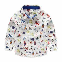 Cotton Kids Printed Shirt
