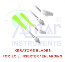 Ophthalmic Keratome Knives