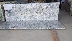 Polished Big Slab Alaska white Granite, For Flooring, Thickness: 15-20 mm